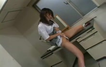 Table Masturbation Upskirt