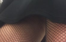 Upskirt shots in market